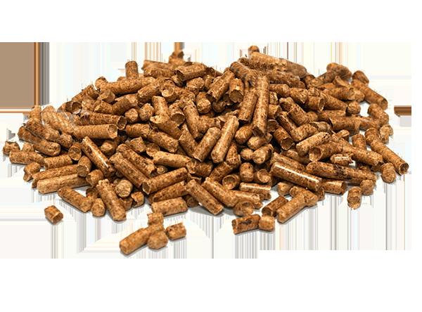 фото индустриальных древесных пеллет